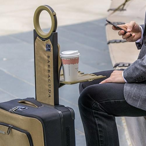 Barracuda Carry-on: mala de viagem com powerbank e localizador