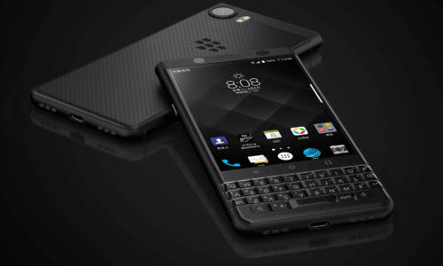 O novo BlackBerry KEYone Black Edition a fotografar e filmar
